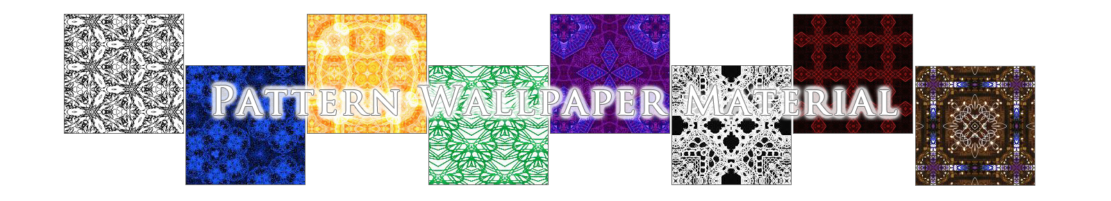 模様壁紙素材